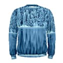 Snowy Forest Reflection Lake Men s Sweatshirt View1