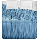 Snowy Forest Reflection Lake Duvet Cover Double Side (King Size) View1