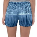 Snowy Forest Reflection Lake Sleepwear Shorts View2