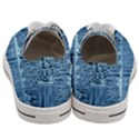 Snowy Forest Reflection Lake Women s Low Top Canvas Sneakers View4