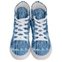 Snowy Forest Reflection Lake Men s Hi-Top Skate Sneakers View1