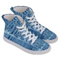 Snowy Forest Reflection Lake Men s Hi-Top Skate Sneakers View3
