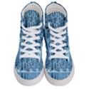 Snowy Forest Reflection Lake Women s Hi-Top Skate Sneakers View1