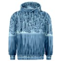 Snowy Forest Reflection Lake Men s Overhead Hoodie View1