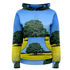 Tree In Field Women s Pullover Hoodie