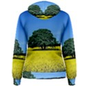 Tree In Field Women s Pullover Hoodie View2