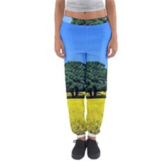Tree In Field Women s Jogger Sweatpants