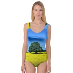 Tree In Field Princess Tank Leotard
