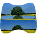 Tree In Field Velour Head Support Cushion View2