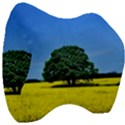 Tree In Field Velour Head Support Cushion View3