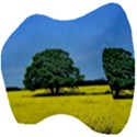 Tree In Field Velour Head Support Cushion View4