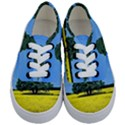 Tree In Field Kids  Classic Low Top Sneakers View1