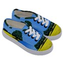 Tree In Field Kids  Classic Low Top Sneakers View3