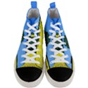 Tree In Field Men s Mid-Top Canvas Sneakers View1