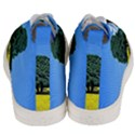 Tree In Field Men s Mid-Top Canvas Sneakers View4