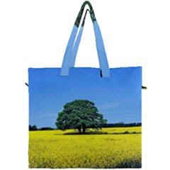 Tree In Field Canvas Travel Bag