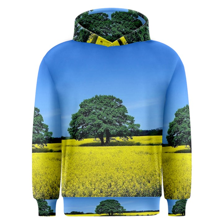 Tree In Field Men s Overhead Hoodie