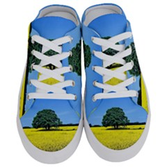 Tree In Field Half Slippers