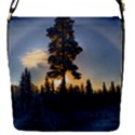 Winter Sunset Pine Tree Removable Flap Cover (S) View1