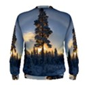 Winter Sunset Pine Tree Men s Sweatshirt View2