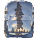 Winter Sunset Pine Tree Full Print Backpack View1