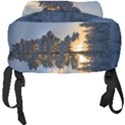 Winter Sunset Pine Tree Full Print Backpack View4