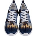 Winter Sunset Pine Tree Men s Lightweight Sports Shoes View1
