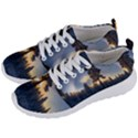 Winter Sunset Pine Tree Men s Lightweight Sports Shoes View2