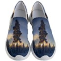 Winter Sunset Pine Tree Women s Lightweight Slip Ons View1