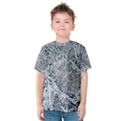 Marble Pattern Kids  Cotton Tee by Alisyart