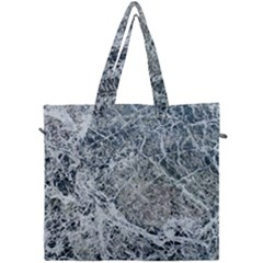 Marble Pattern Canvas Travel Bag by Alisyart