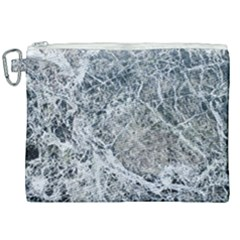 Marble Pattern Canvas Cosmetic Bag (xxl)
