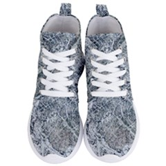 Marble Pattern Women s Lightweight High Top Sneakers