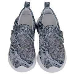 Marble Pattern Velcro Strap Shoes