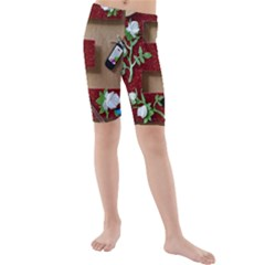E Is For Everything Kids  Mid Length Swim Shorts
