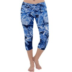 Cold Ice Capri Yoga Leggings