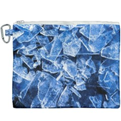 Cold Ice Canvas Cosmetic Bag (xxxl) by FunnyCow
