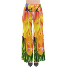 Festival Of Tulip Flowers So Vintage Palazzo Pants by FunnyCow