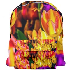Fancy Tulip Flowers In Spring Giant Full Print Backpack by FunnyCow
