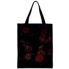 Floral Fireworks Classic Tote Bag by FunnyCow
