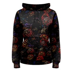 Floral Fireworks Women s Pullover Hoodie by FunnyCow