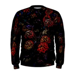 Floral Fireworks Men s Sweatshirt by FunnyCow