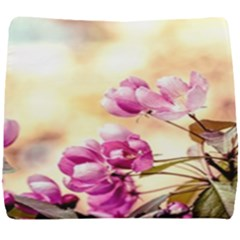 Paradise Apple Blossoms Seat Cushion by FunnyCow