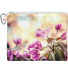 Paradise Apple Blossoms Canvas Cosmetic Bag (xxxl) by FunnyCow