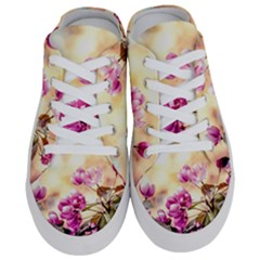 Paradise Apple Blossoms Half Slippers
