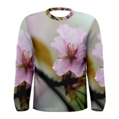 Soft Rains Of Spring Men s Long Sleeve Tee