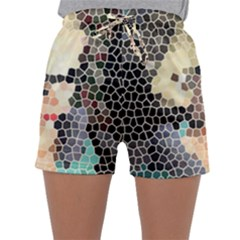 Stained Glass Girl Sleepwear Shorts