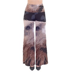 Bear Looking So Vintage Palazzo Pants