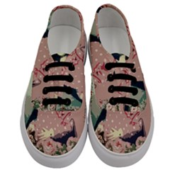 Rose Floral Doll Men s Classic Low Top Sneakers