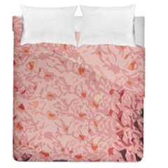 Pink Crochet Duvet Cover Double Side (queen Size)